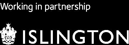 Working in partnership Islington logo