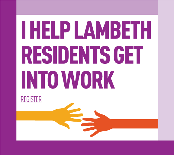 I help Lambeth residents get into work